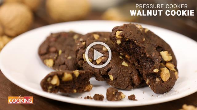 Pressure Cooker Walnut Cookie