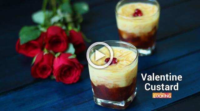 Valentine Custard | Ventuno Home Cooking