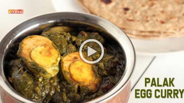 Palak Egg Curry