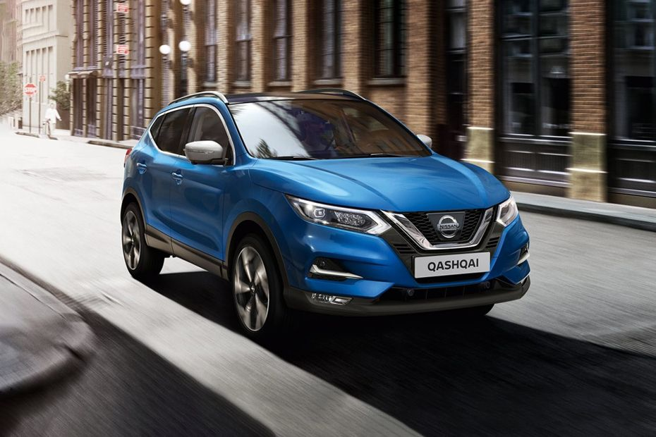 Qashqai Front angle low view