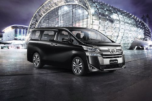 Vellfire Front angle low view