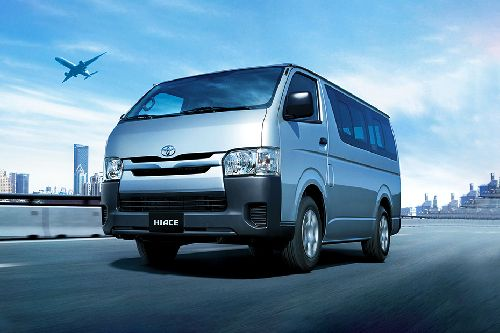 Hiace Commuter Front angle low view