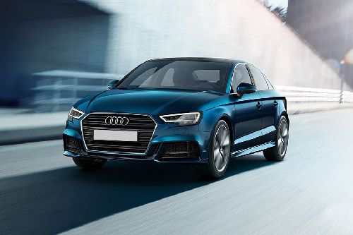 A3 Sedan Front angle low view
