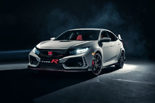 Civic Type-R Front angle low view