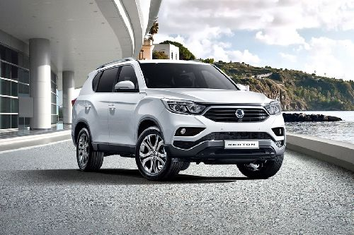 Rexton Front angle low view