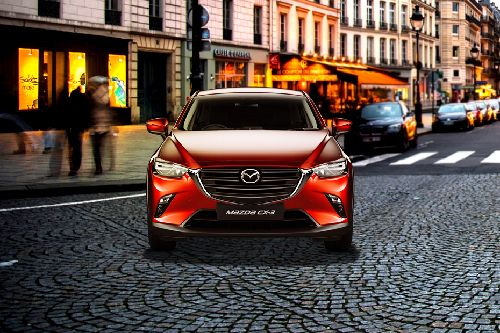 Full Front View of CX-3