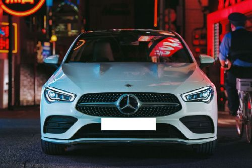Full Front View of CLA-Class Coupe