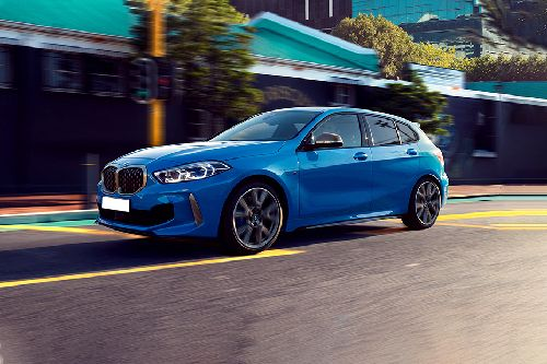 1 Series Front angle low view