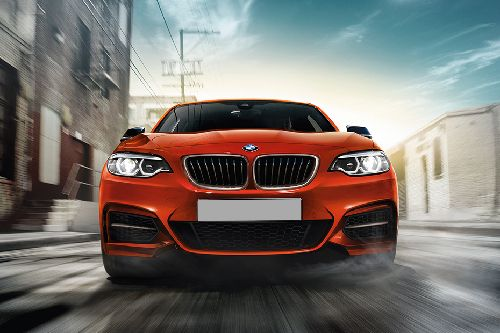 Full Front View of M2 Coupe Competition