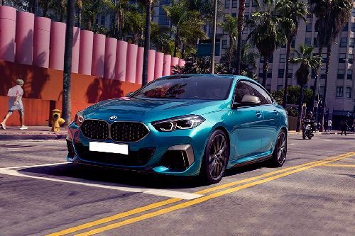 2 Series Gran Coupe Front angle low view