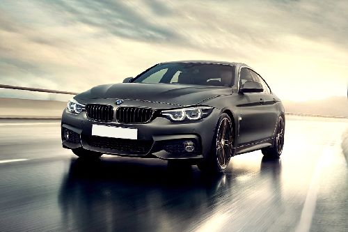 4 Series Gran Coupe Front angle low view