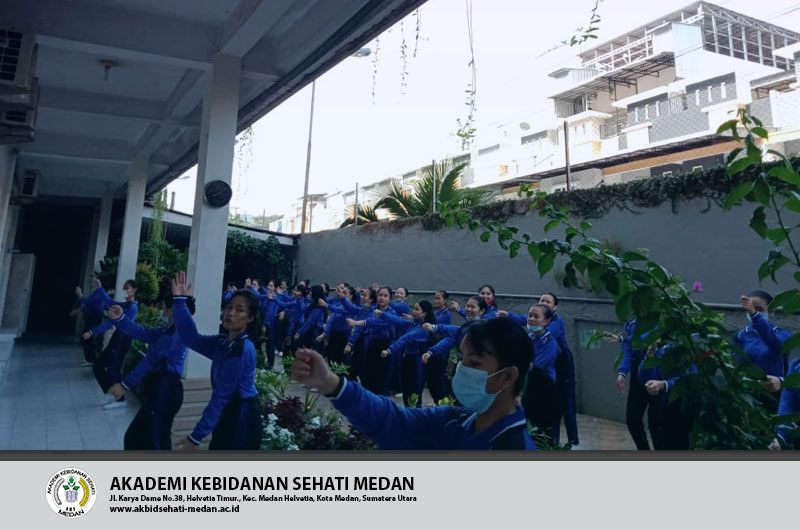 Perayaan Paskah Akademi kebidanan Sehati Tgl 24 April 2021 Selasa, 27 April 2021