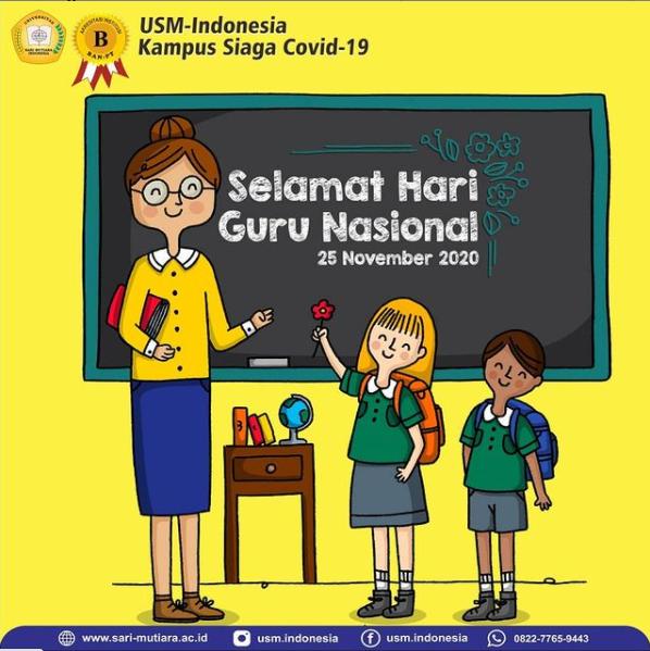 Selamat Hari Guru Nasional ...