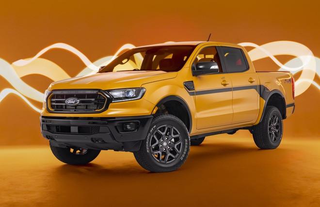 Ford Ranger có thêm phiên bản Splash màu cam rực rỡ - 1