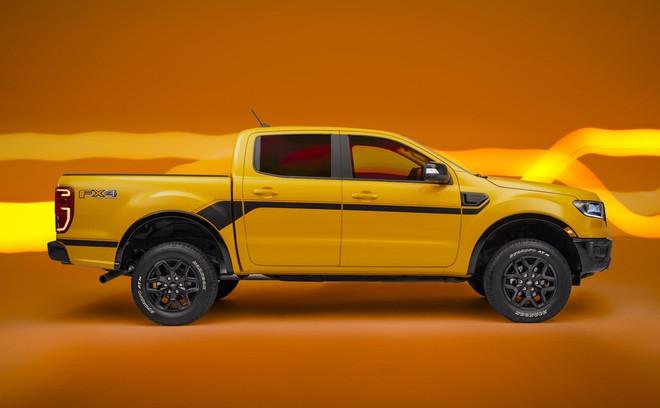 Ford Ranger có thêm phiên bản Splash màu cam rực rỡ - 4