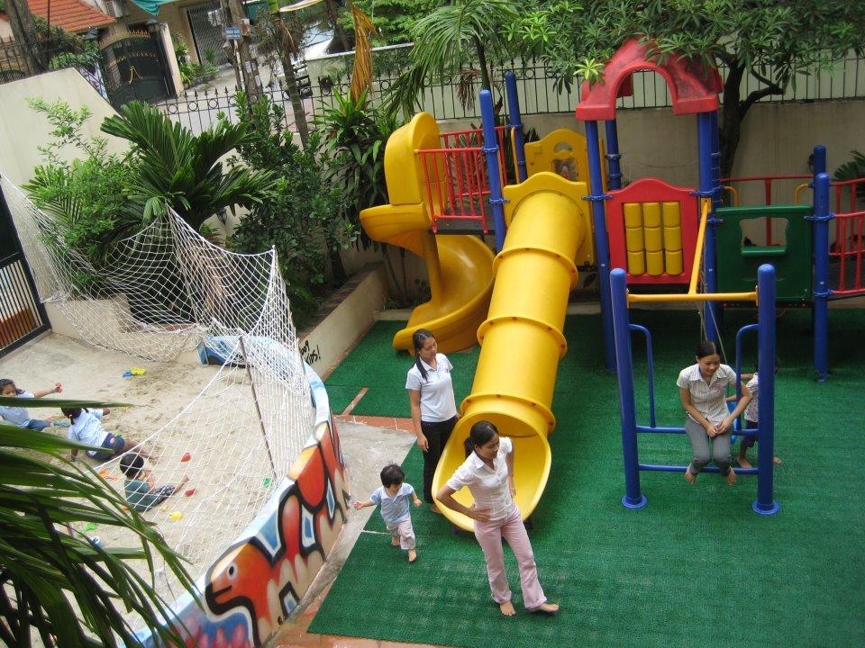 (Hanoi International Kindergarten) Trường mầm non Quốc Tế Hà Nội - Tô Ngọc Vân