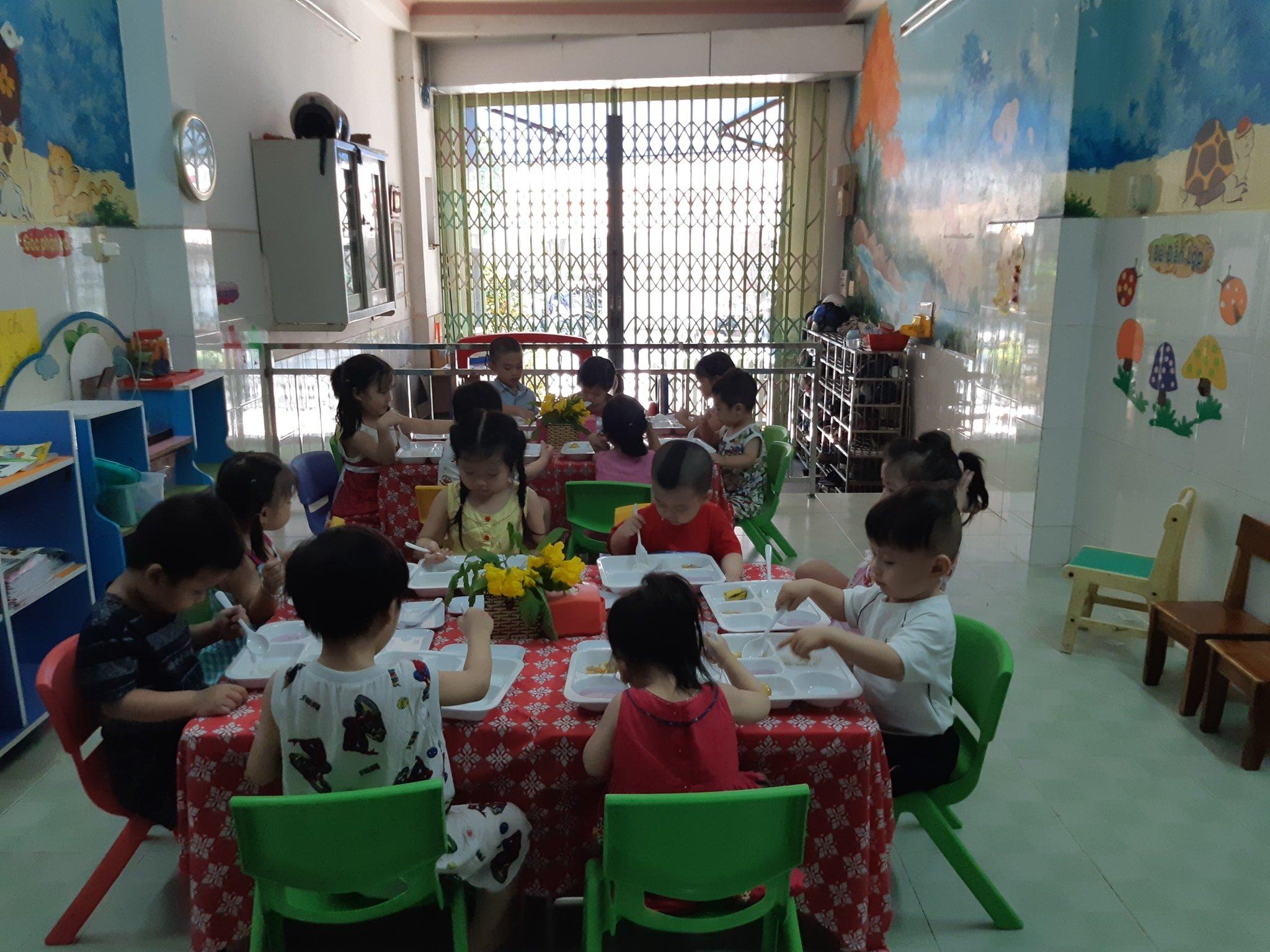 Lớp mẫu giáo Thiên Thanh - Phú Thọ Hoà