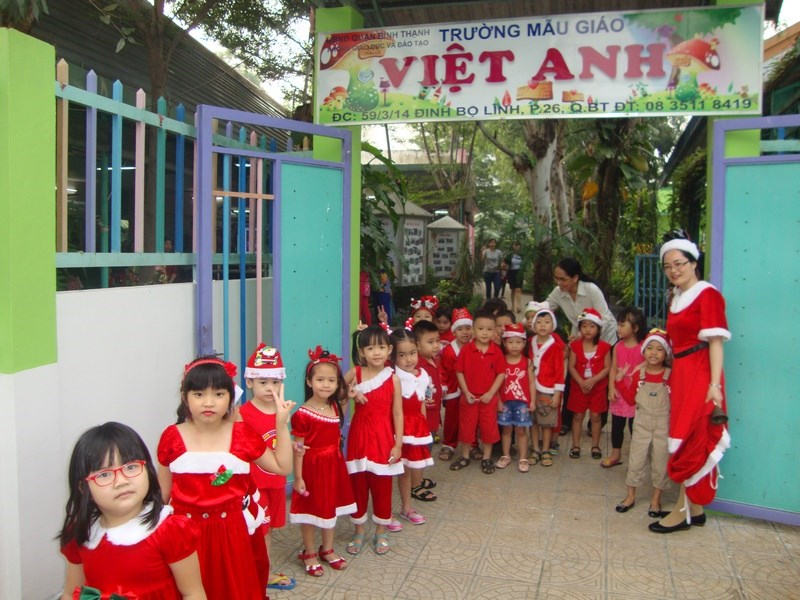 Trường mẫu giáo Việt Anh - Phường 26