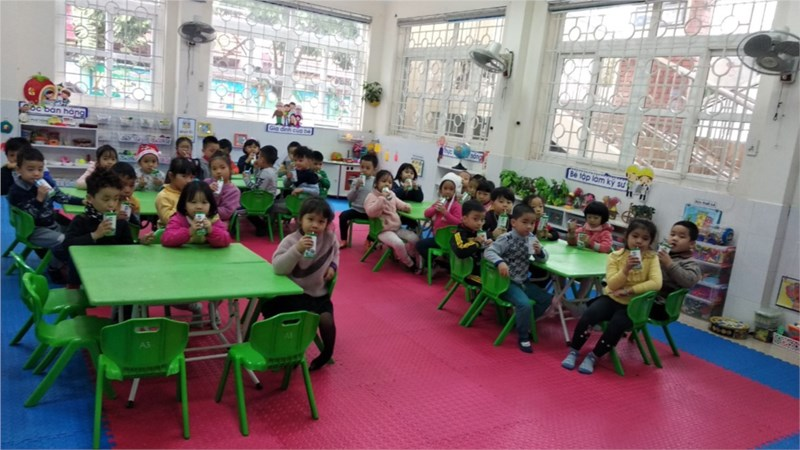 Trường mầm Non Đức Giang - Đức Giang