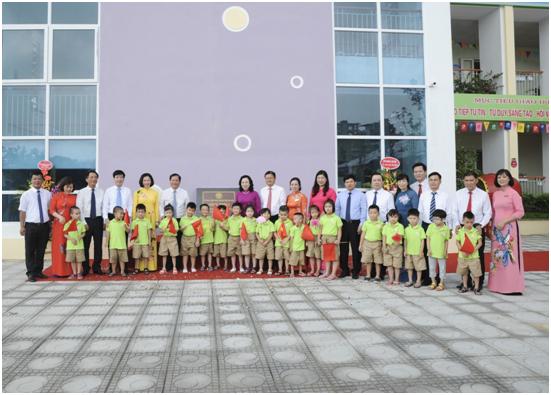 Trường mầm non Hồng Tiến - Bồ Đề