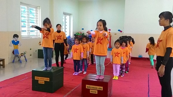 Trường mầm Non Ánh Sao - Long Biên