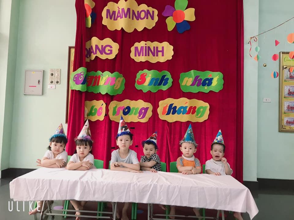 Trường mầm non Quang Minh - Bồ Đề