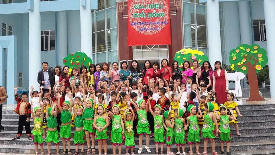 Trường mầm non sơn ca - Hoàng Đạo Thành