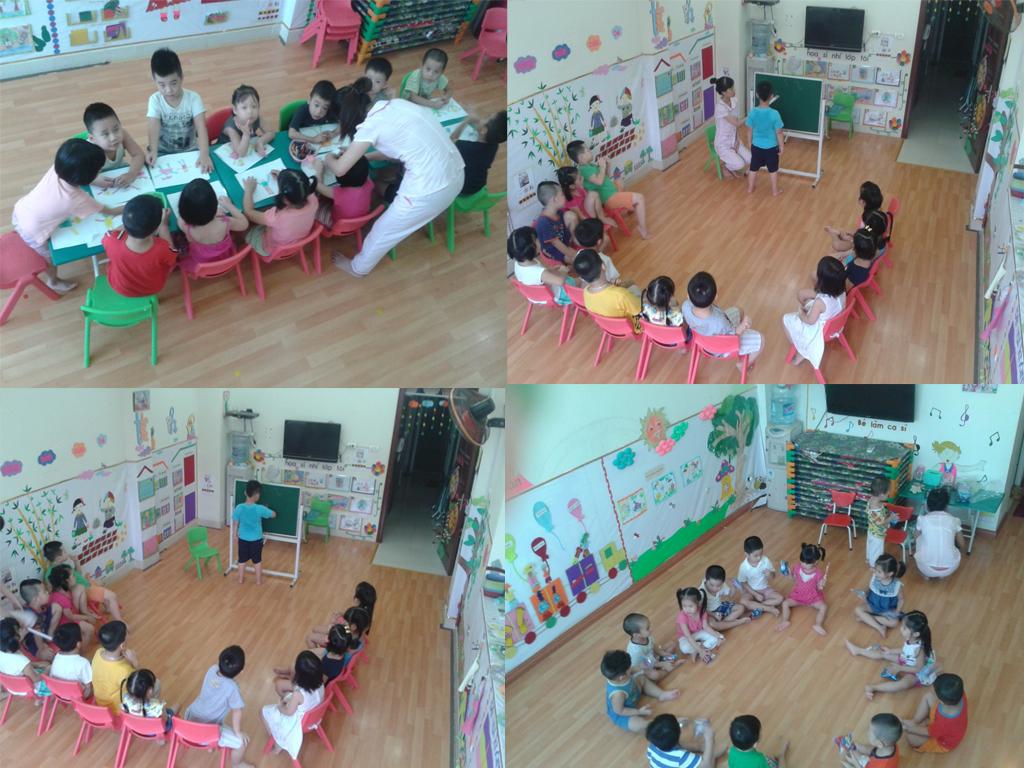 Trường mầm non tư thục Sen Hồng - Long Biên