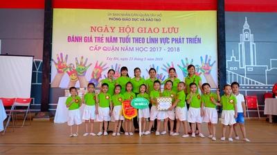 Trường mầm non Xuân La - Lạc Long Quân