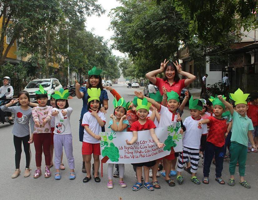 Trường mầm non Lá Phong Xanh - Lá Phong Đỏ  (The Maple Leaf Montessori Academy) - Lô 2, KDT Văn Khê