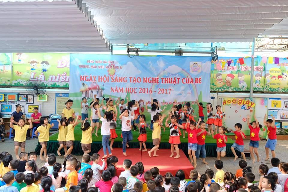 Trường mầm non A - Điện Biên