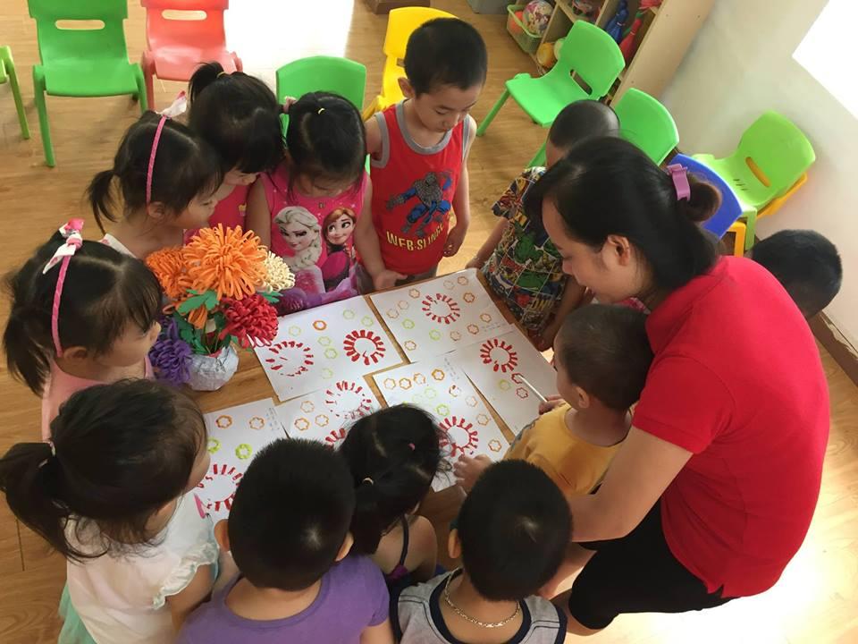 Trường mầm non Cà Chua Đỏ - Nhân Chinh