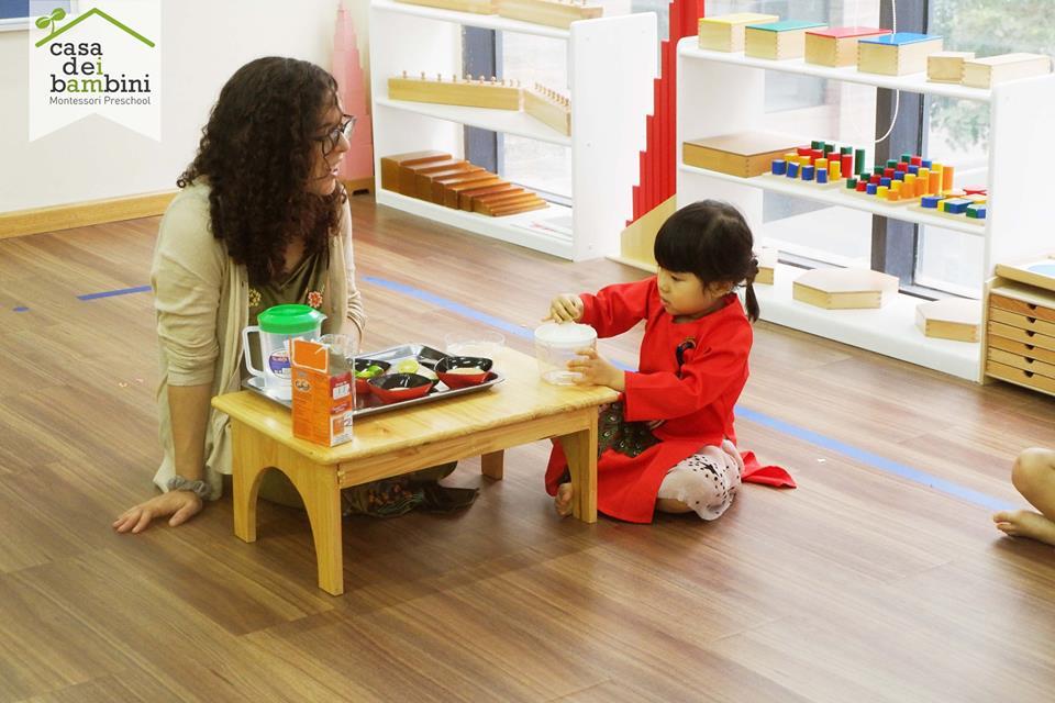 Trường mầm non Casa dei Bambini - Kim Mã
