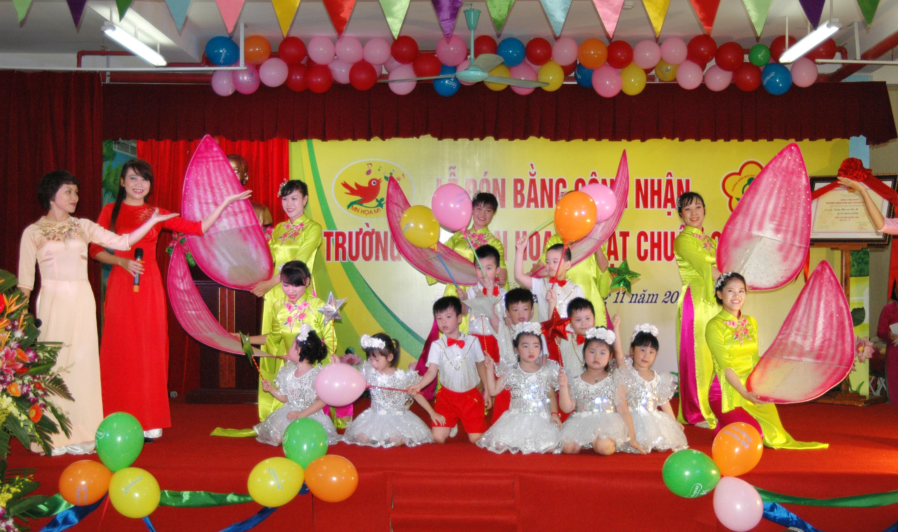 Trường mầm non Hoạ Mi - Hàng Giấy