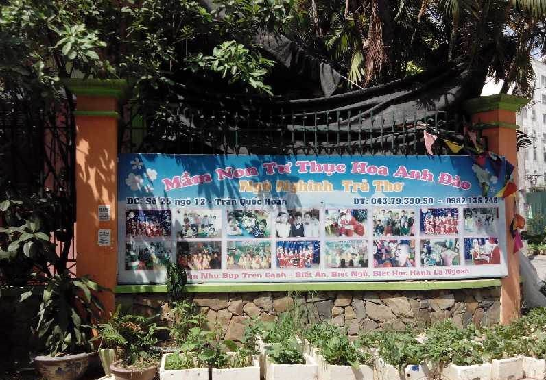 Trường mầm non Hoa Anh Đào - Dịch Vọng Hậu
