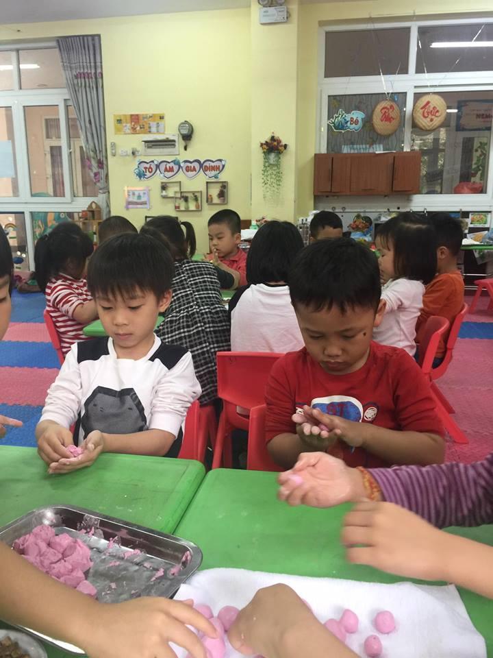 Trường mầm non Hoa Hồng - Nghĩa Tân
