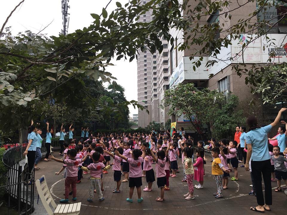 Trường mầm non Liễu Giai Cầu Giấy - Dịch Vọng