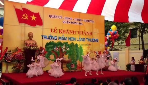 Trường mầm non Láng Thượng -  phố Chùa Láng
