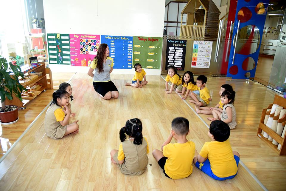Trường mầm non Mặt Trời Bé Thơ Sunrise Kidz - Nghĩa Đô