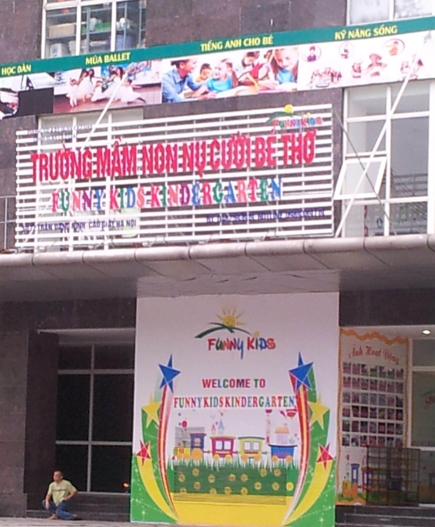 Trường mầm non Nụ Cười Bé Thơ - Dịch Vọng
