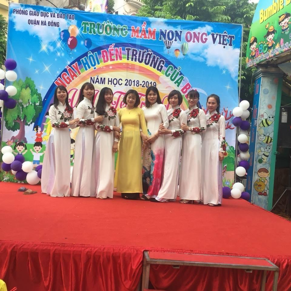 Trường mầm non Ong Việt - KĐT Văn Quán