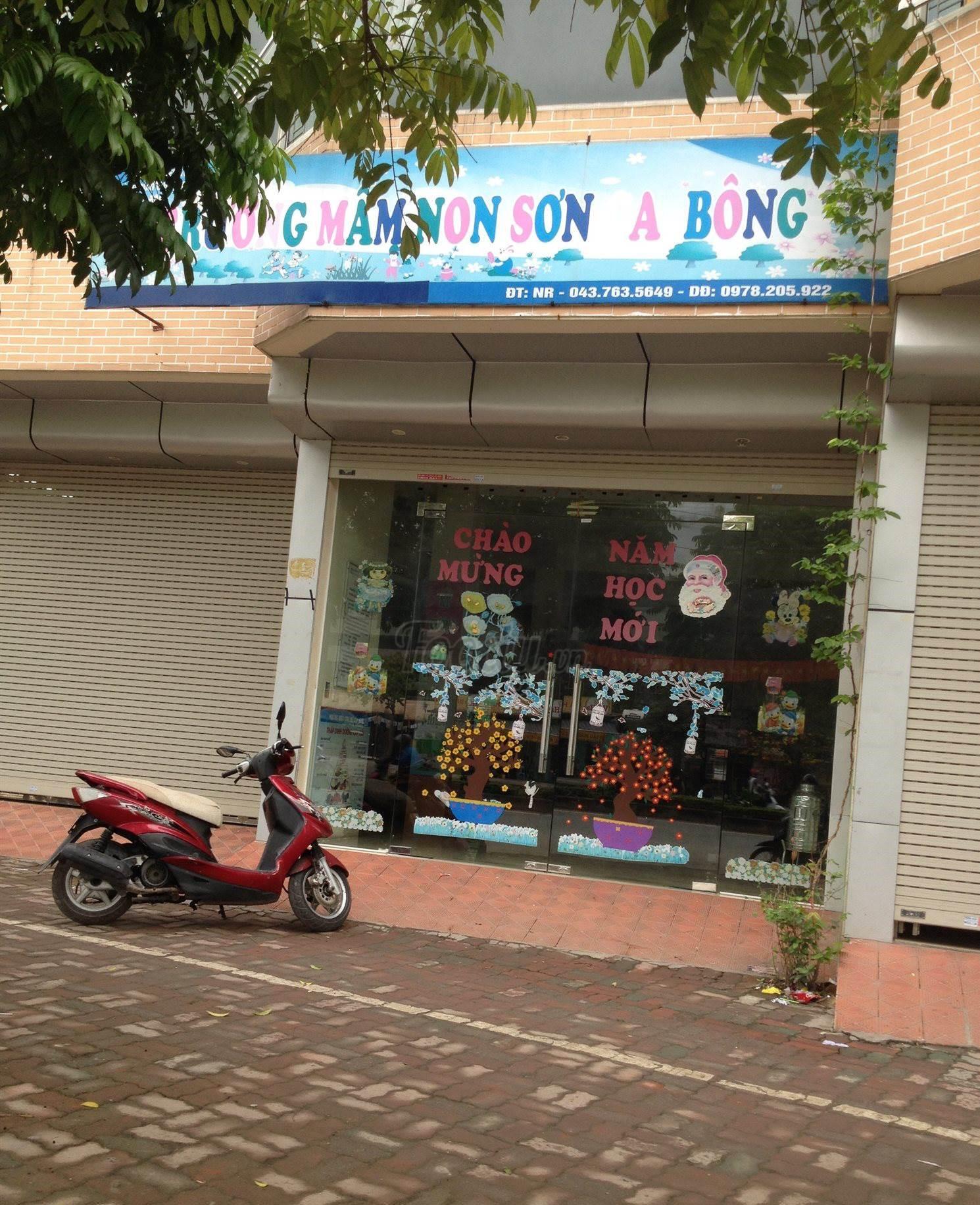 Trường mầm non Sơn Ca Bông - Phúc Diễn