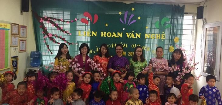 Trường mầm non Sơn Ca - Kim Mã