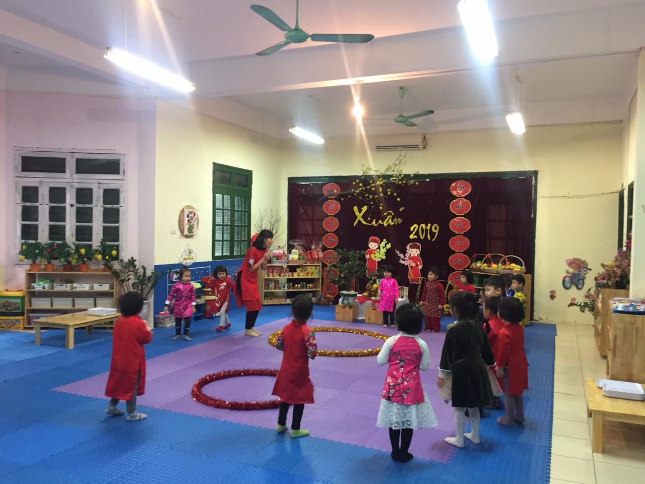 Trường mầm non Tuổi Hoa - Giảng Võ