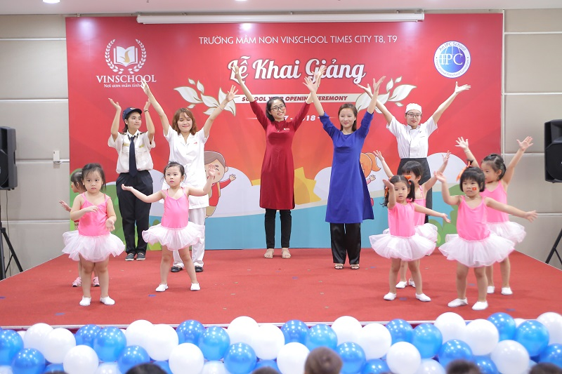 Trường mầm non Vinschool Times City -  458 Minh Khai