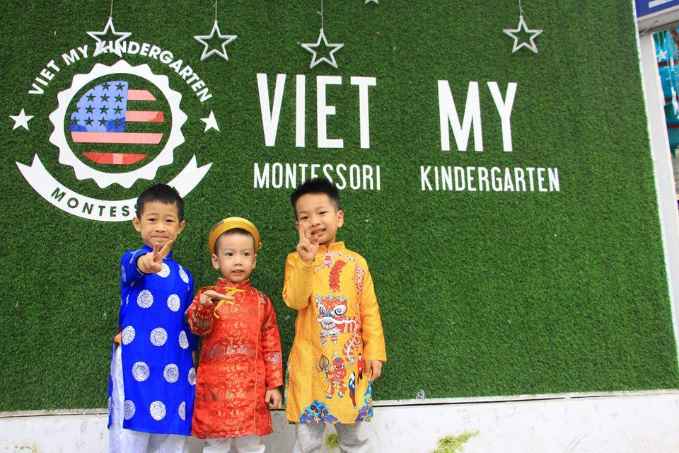 Trường mầm non Song ngữ Việt Mỹ Montessori - Dịch Vọng Hậu