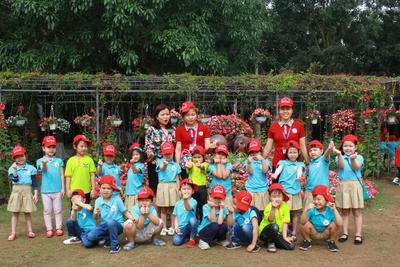 Trường mẫu giáo Hoa Hồng - Đường Thành