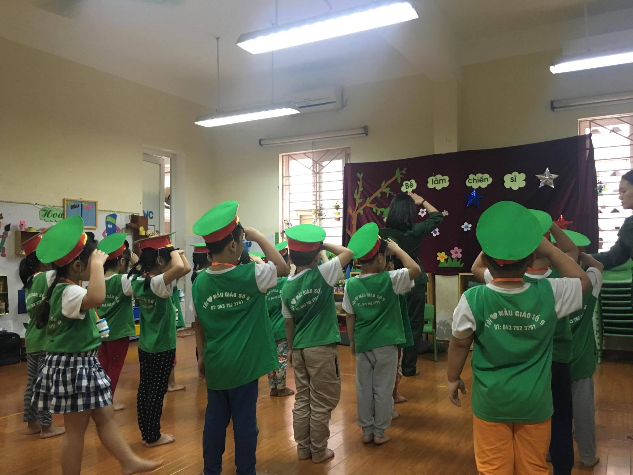 Trường mẫu giáo Số 9 - Liễu GIai