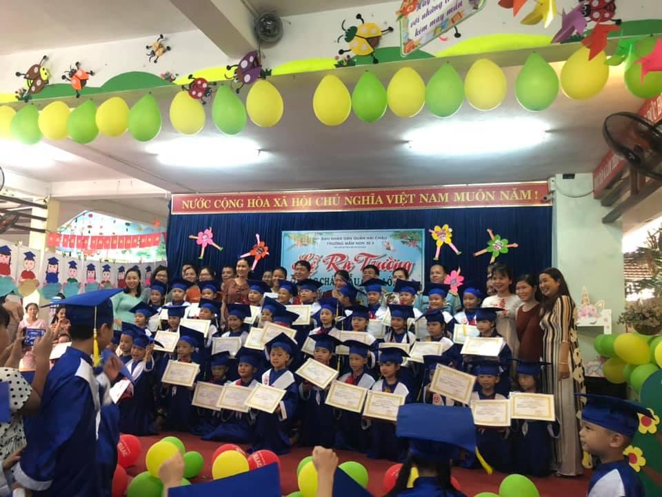 Trường mầm non 30/4 - Thi Sách, phường Hòa Thuận Tây