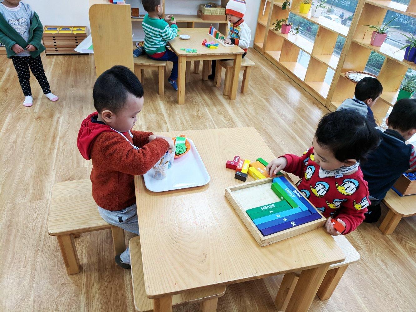 Trường mầm non AN (AN Preschool) - Tố Hữu, Trung Văn